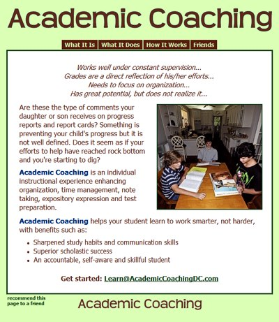 academic coaching